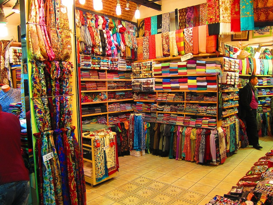Bazaar in Turkey