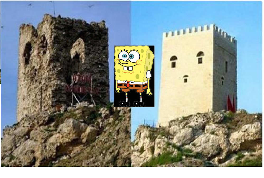 Spongebob in Turkey
