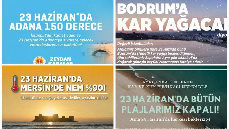 Turkish campaign to keep city dwellers in the cities to vote