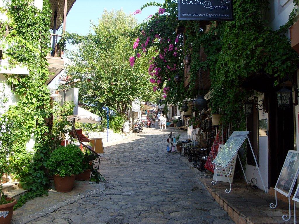 Romantic Kalkan street