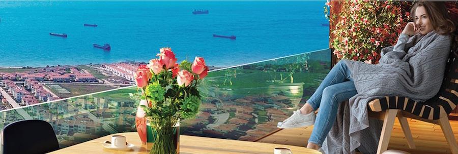 Sea view homes