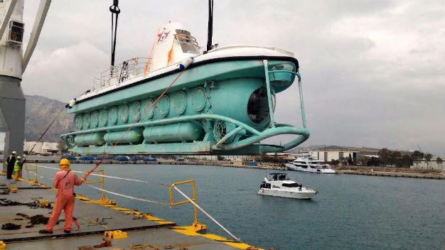 Submarine, Antalya