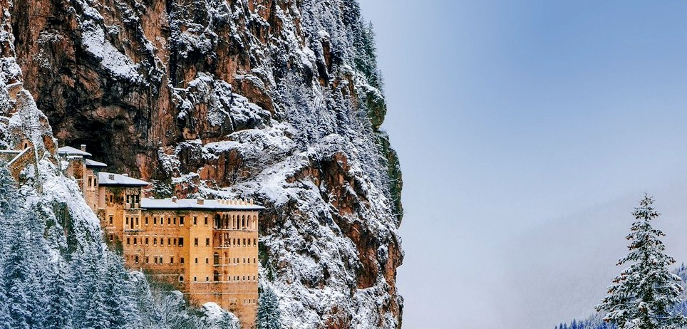 Sumela monastery in Turkey
