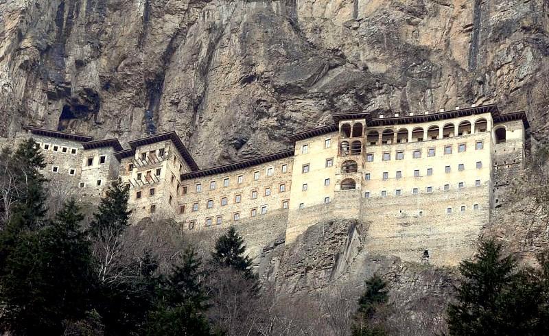 Sumela monastery in Trabzon