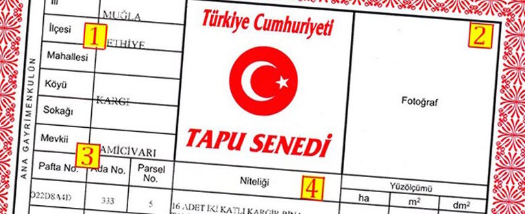 TAPU for Turkish property