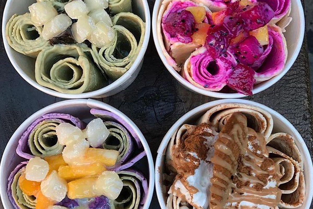 Thai roll ice