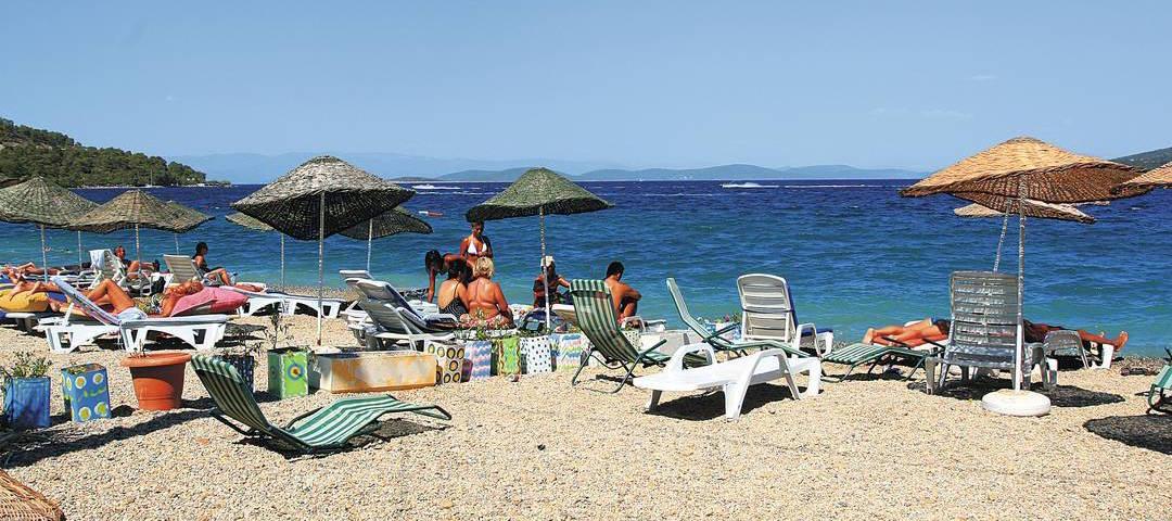 Beach in Torba
