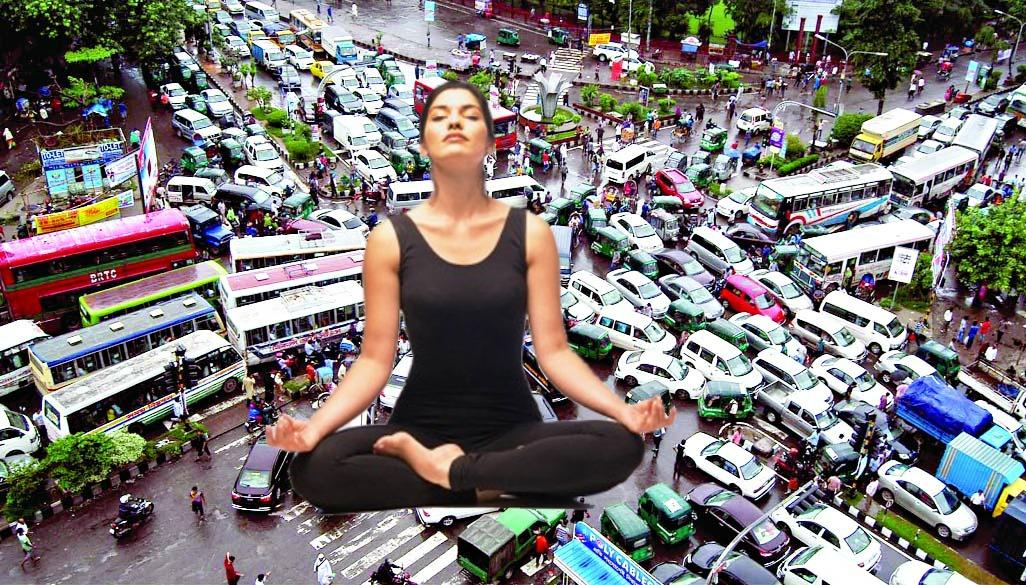 serenity in traffic