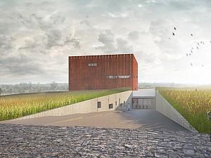 特洛伊博物馆; 10,000平方米,耗资1300万美元