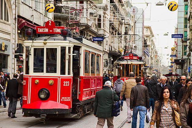 Istanbul tram