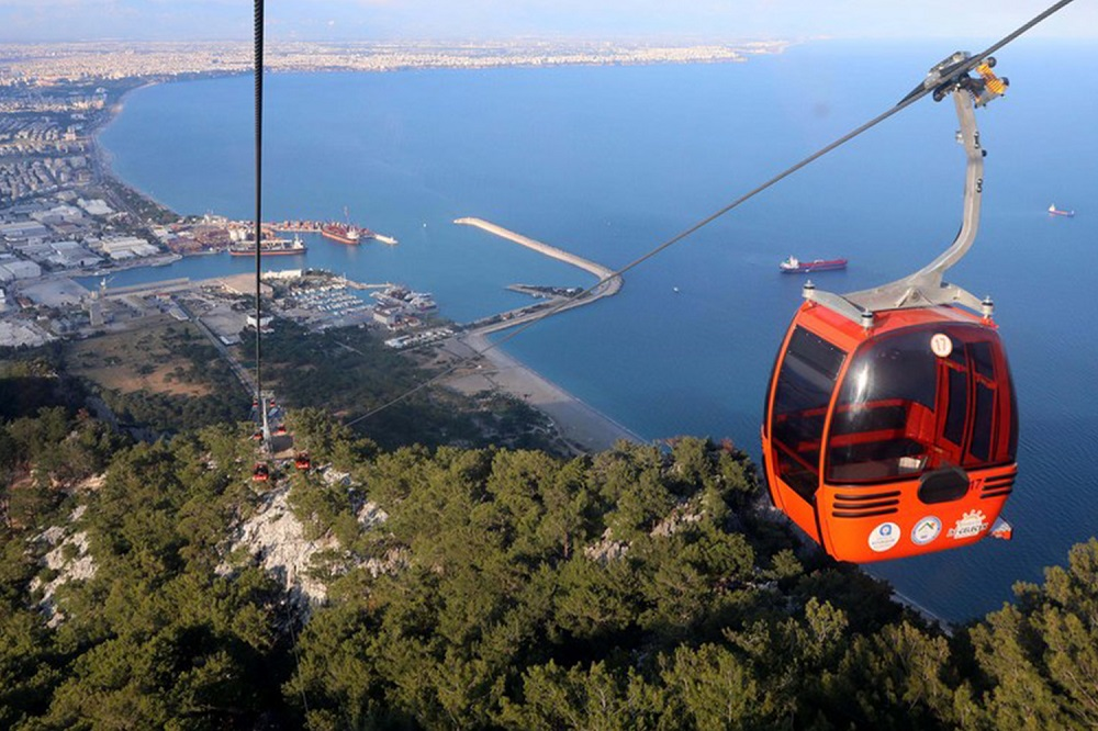 Tunektepe cable car ride