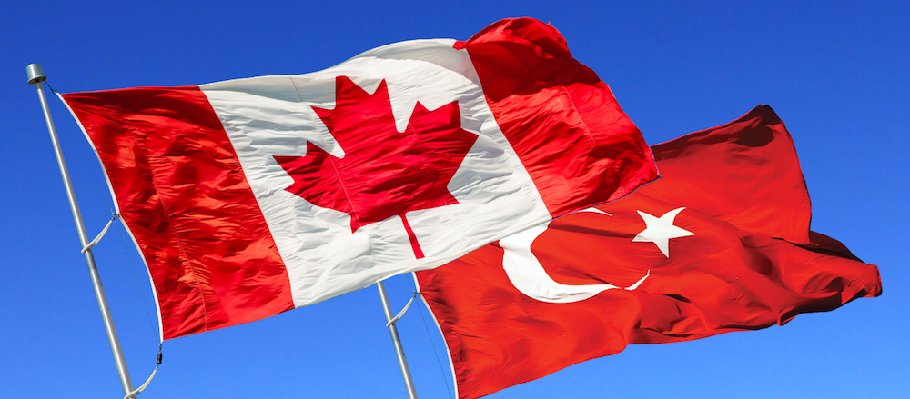 Turkey and Canada