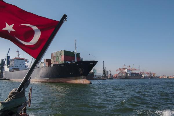 土耳其贸易蓬勃发展