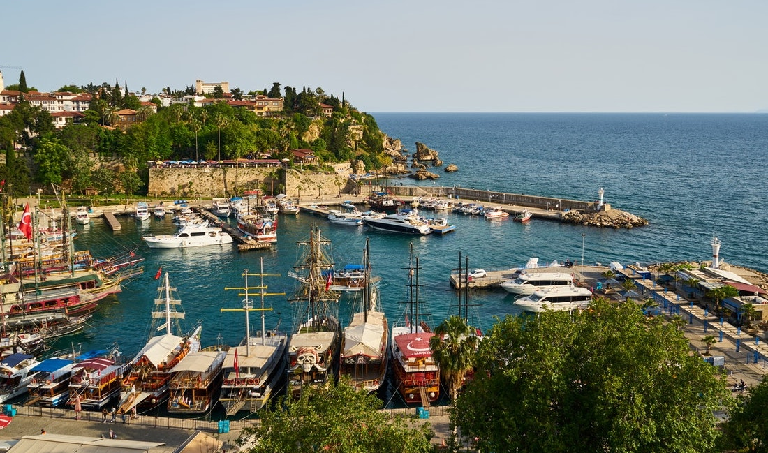 Travelling in Turkey