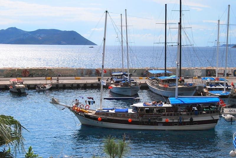 土耳其传统帆船