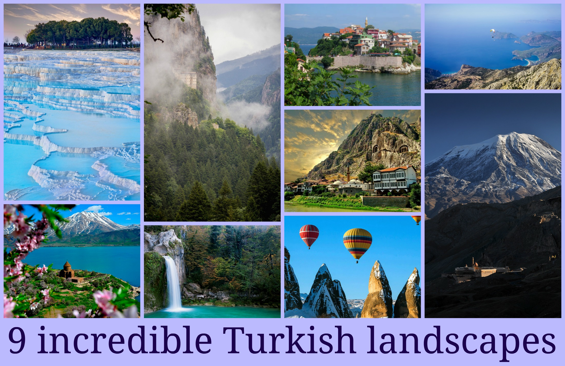 9 Incredible Turkish Landscapes Scenery Property Turkey