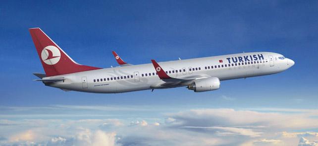 Turkish Airlines plane