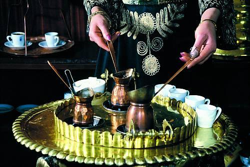 Turkish coffee tradition
