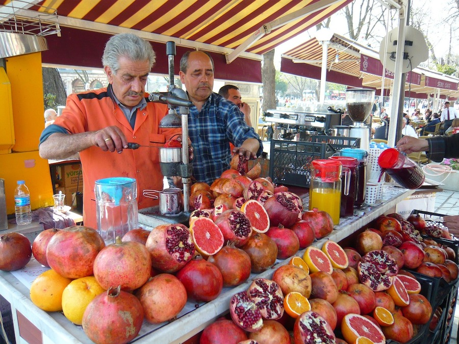 Market in Turkey