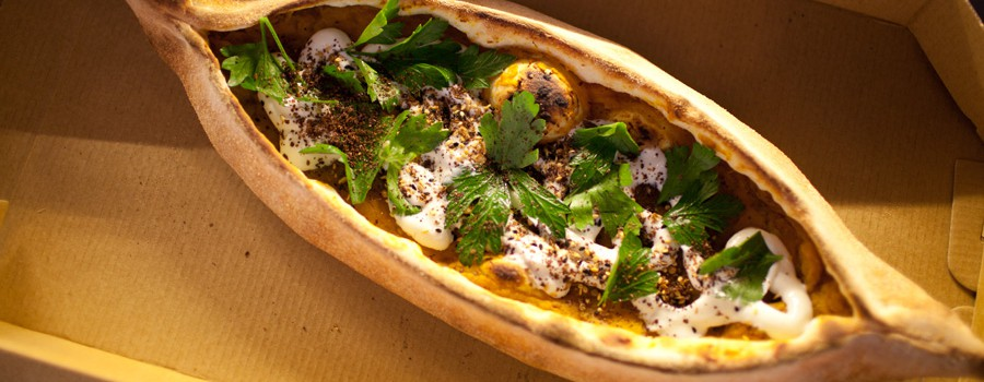 Turkish Pide food