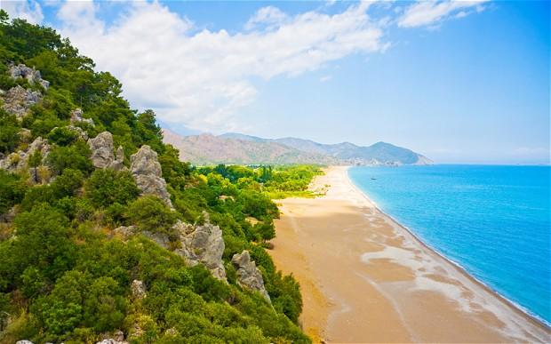 Turqoise coast, Turkey