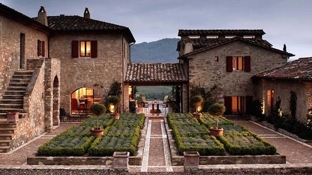 Tuscan design villas near Buyukcekmece