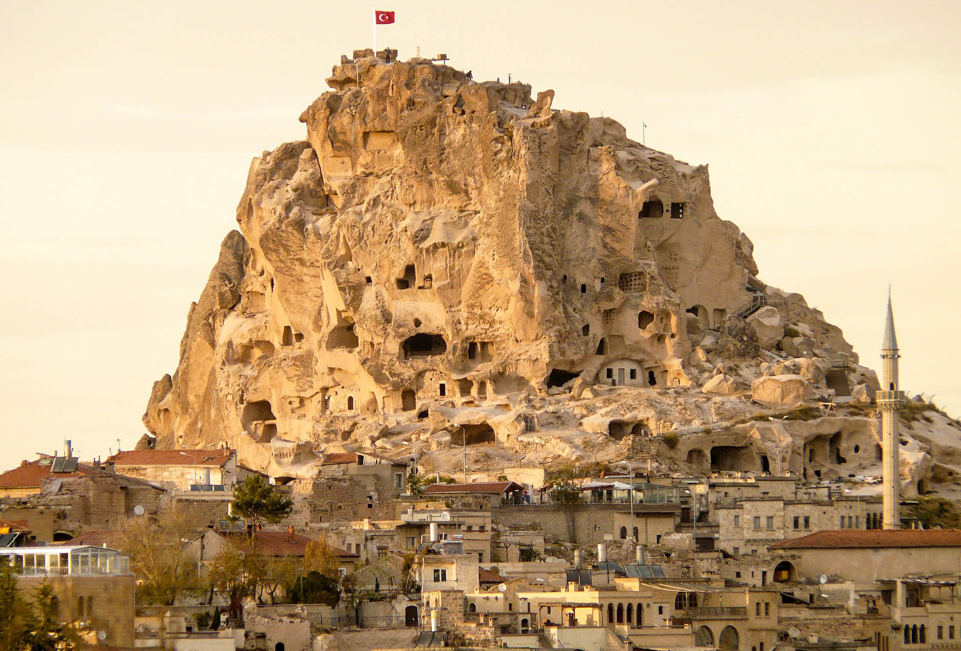Uchisar Castle, Turkey