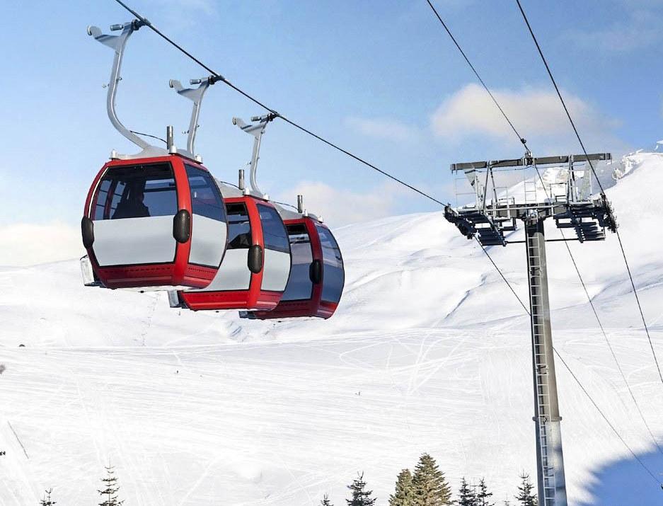 Skiing in Uludag Turkey
