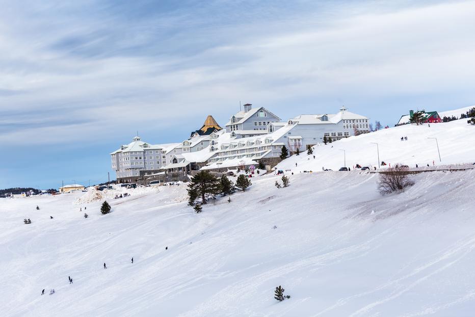 Skiing in Uludag Bursa
