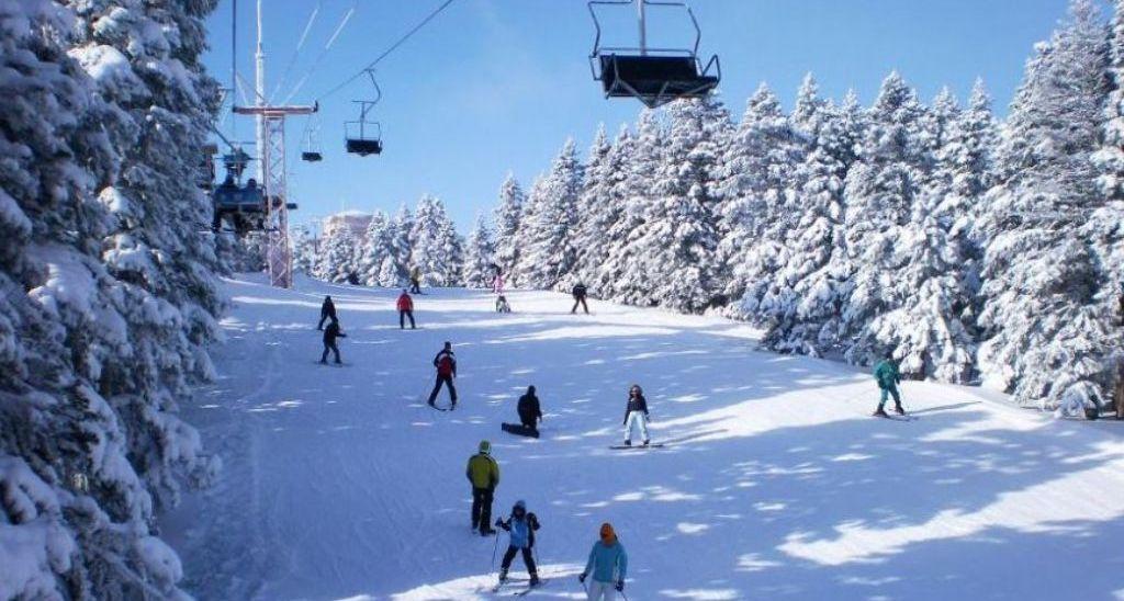 лыжная трасса в Улудаг