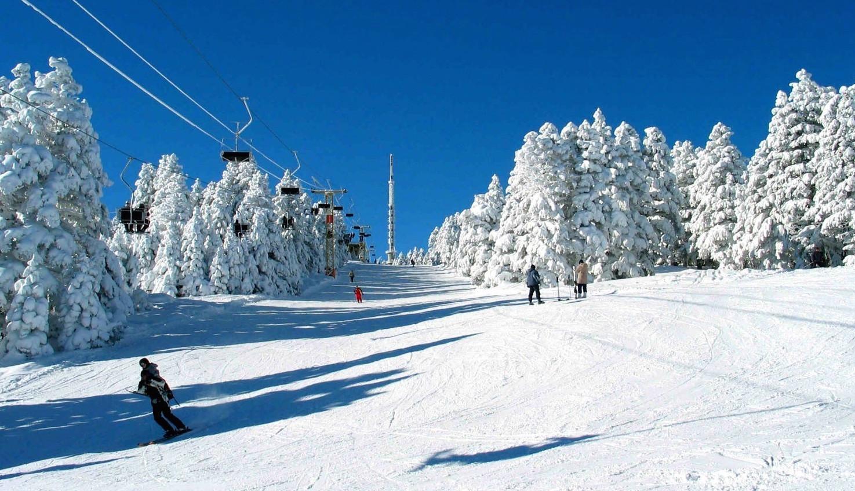 Uludag skiing