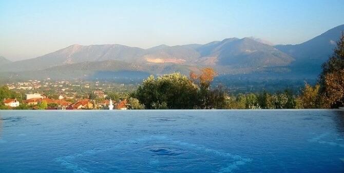 Uzumlu villa view