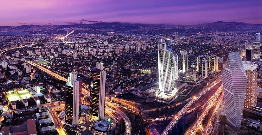 Sapphire building Istanbul