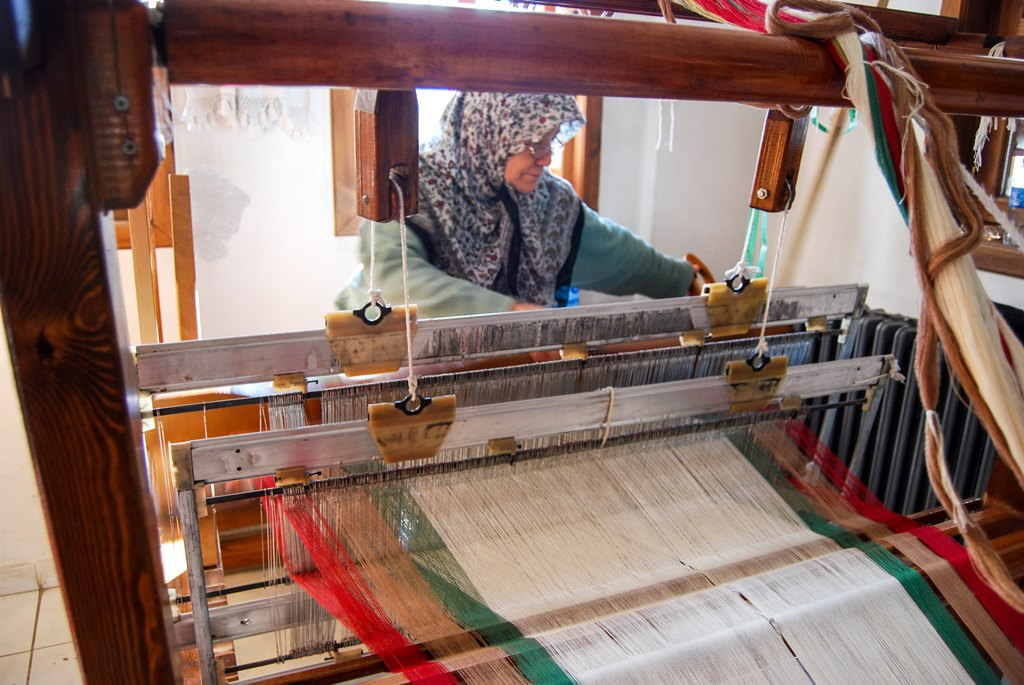 Weaving in Turkey