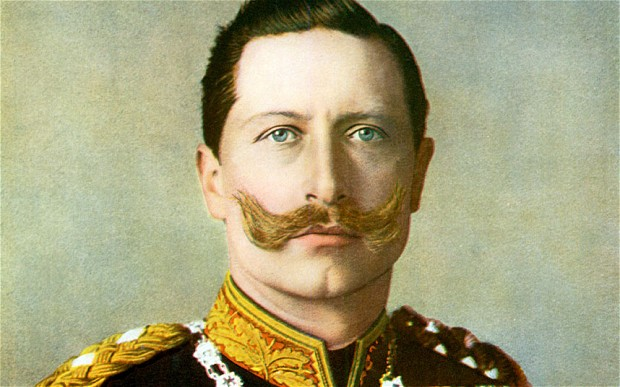 Emperor Wilhelm II and his incredible moustache