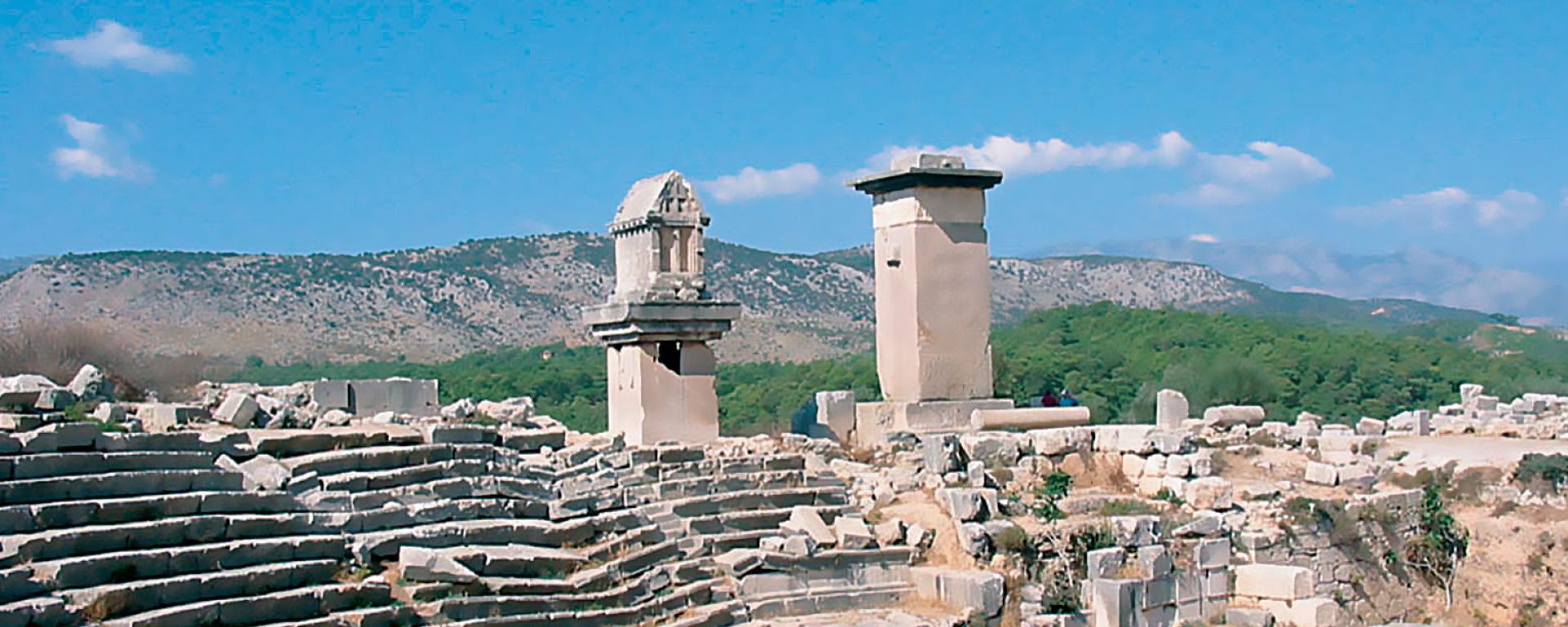 Xanthos, Antalya