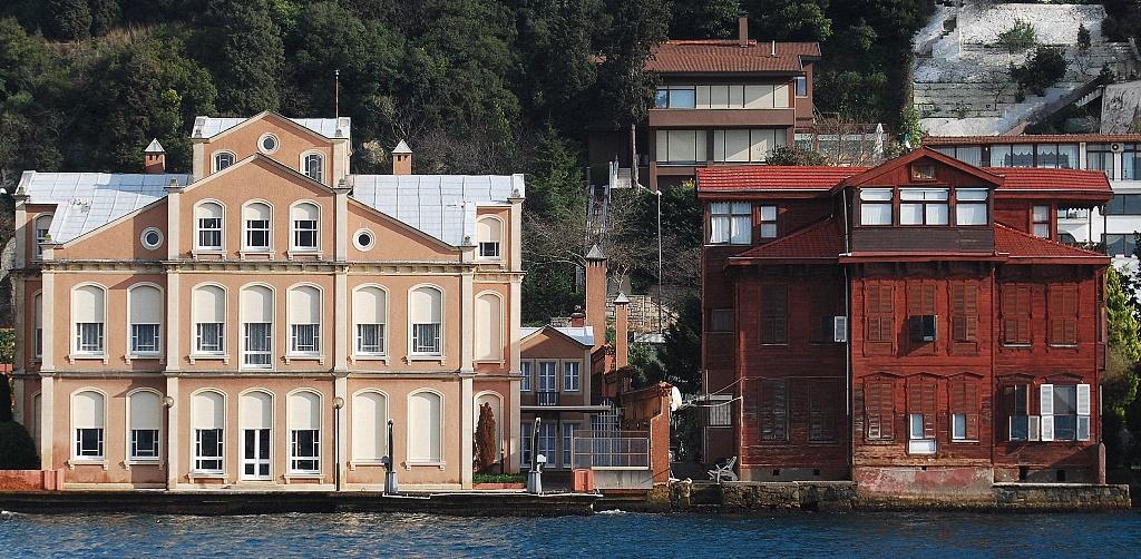 Yali houses Istanbul
