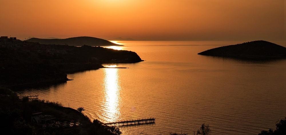 Yalikavak Bodrum sunset