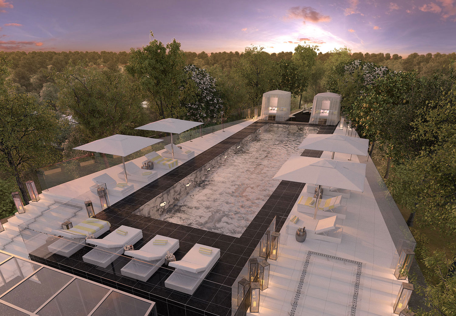 Rooftop terrace, G by Yoo, Istanbul