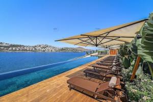 Yalikavak Island villas with panoramic sea vistas
