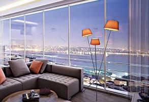 Cihangir Panorama luxury apartments in Beyoglu Istanbul