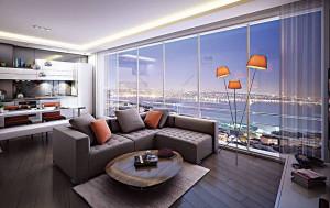 Panoramic Cihangir homes perfect for Airbnb lettings