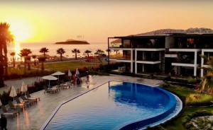 Luxury apartments in Kadikalesi with private beach