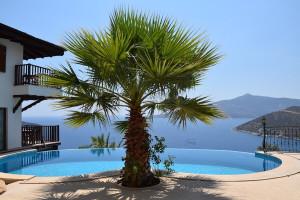 5-star panoramic sea view villa for sale in Kalkan
