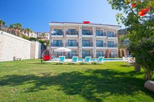 Fantastic sea view hotel for sale in Kas peninsula