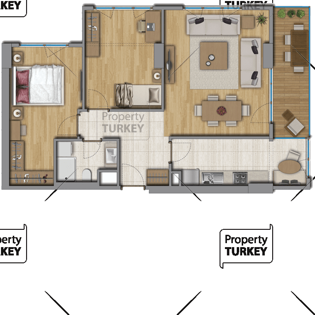 2 bedrooms and 1 bathroom site plans