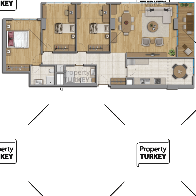 3 bedrooms and 2 bathrooms site plans