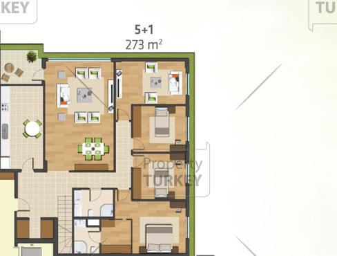 5 bed floor 1