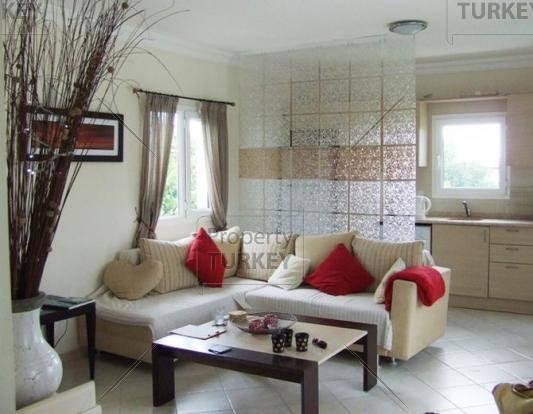 Living room area inside the home