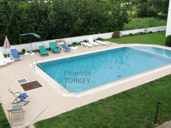 Large communal swimming pool in Turkey